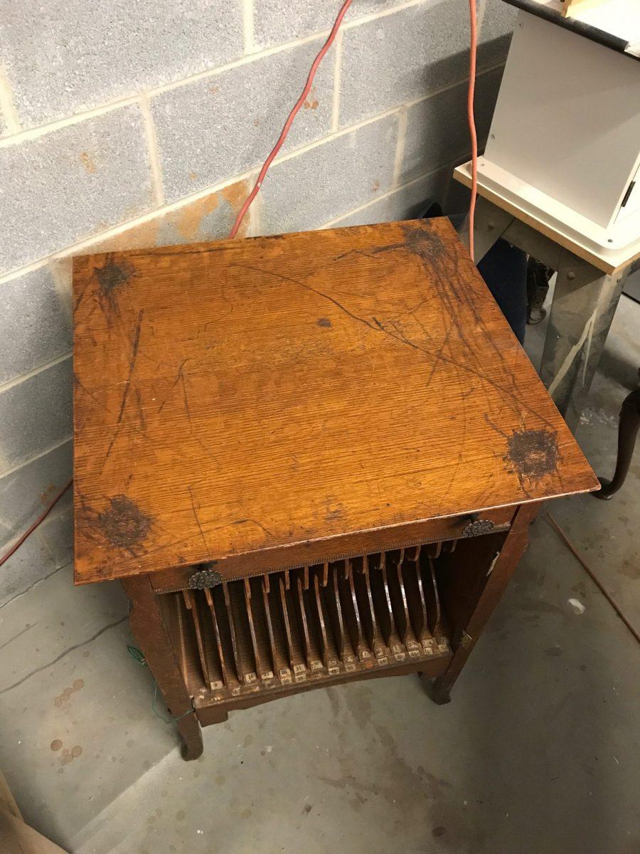 Restoring an 1890's Music Box Disc Cabinet - Martin & Calloway