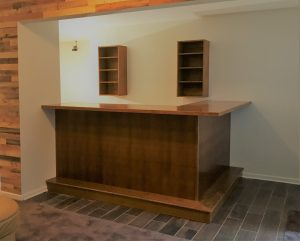 Bar In Entertainment Space
