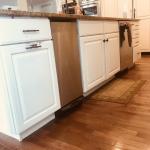 white kitchen alternate angle