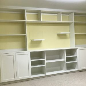 Home Office Full-Wall Cabinets