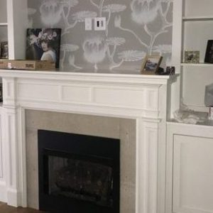 Built-In Fireplace Surround Unit
