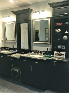 custom bathroom cabinets and vanity